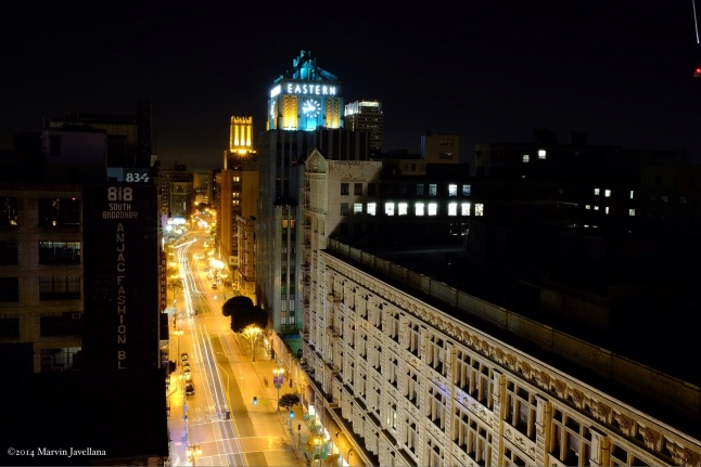 The Art Deco Eastern Bldg on Broadway - DTLA